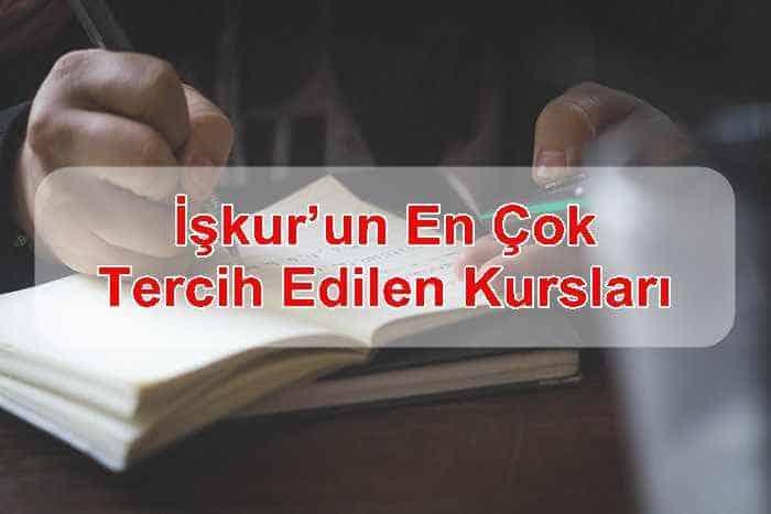 Photo of İşkur'un En Çok Tercih Edilen Kursları