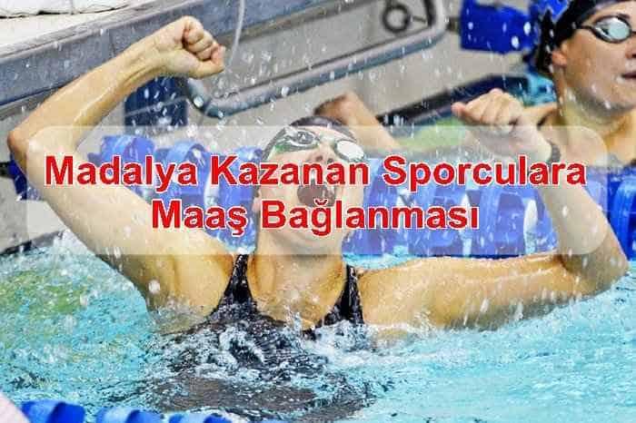 Photo of Madalya Kazanan Sporculara Maaş Bağlanması