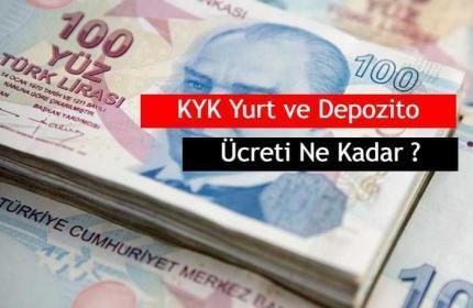 2019 KYK Yurt ve Depozito Ücreti Ne Kadar ?